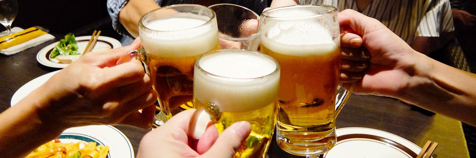 ビールのスライド画像
